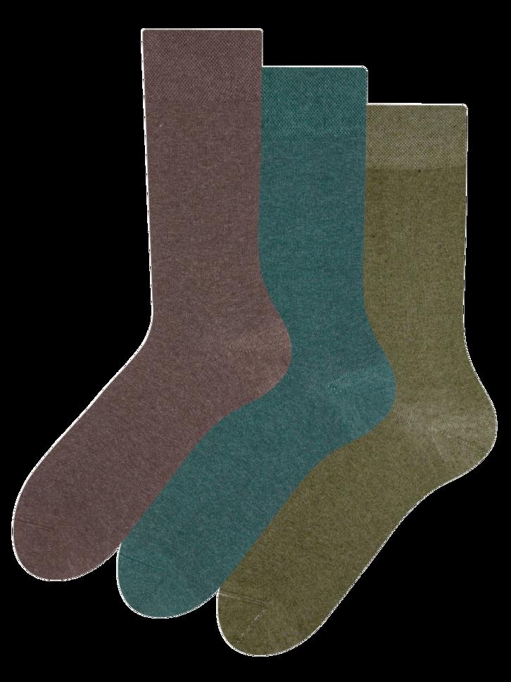 Eredeti és szokatlan ajándékot keres? a megajándékozottat garantáltan meglepi Újrahasznosított pamut zokni hármas csomagolásban Vadász