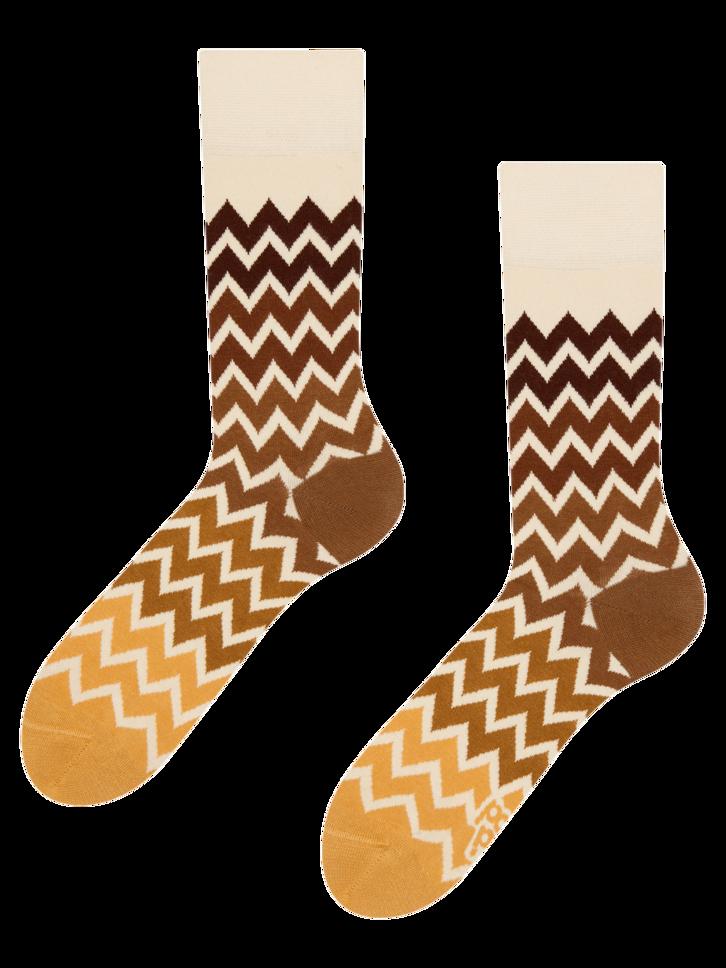 Gift idea Regular Socks Zig Zag