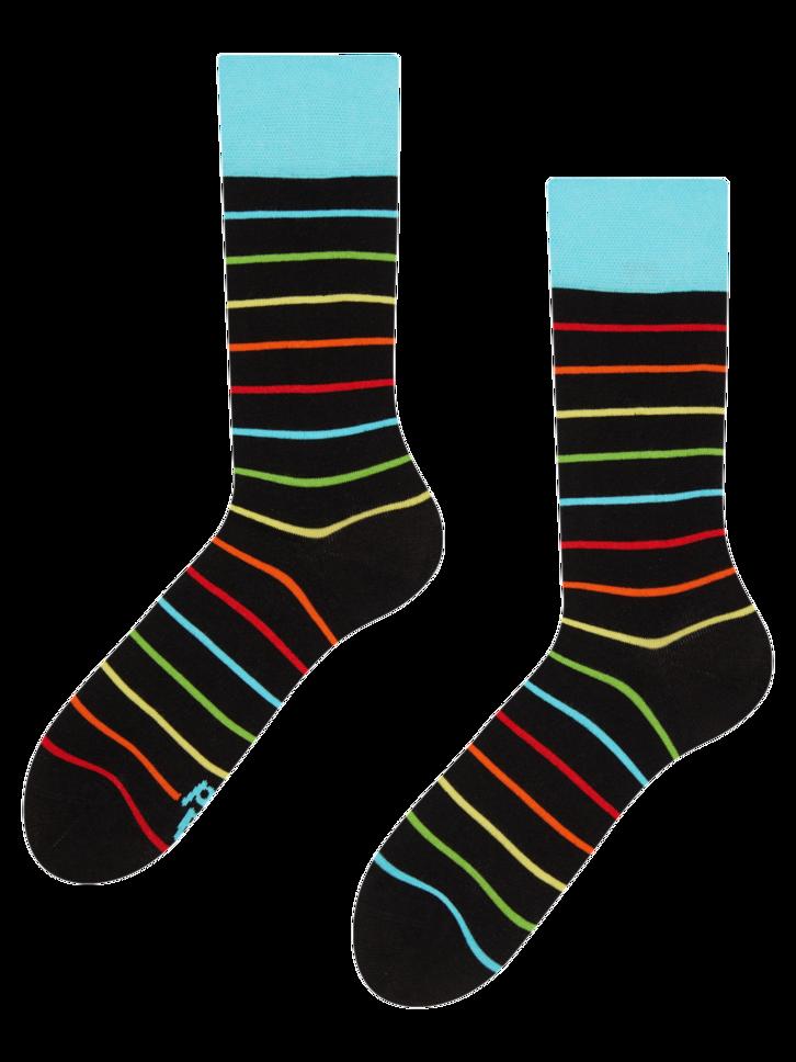 Výnimočný darček od Dedoles Vrolijke sokken Neonstrepen