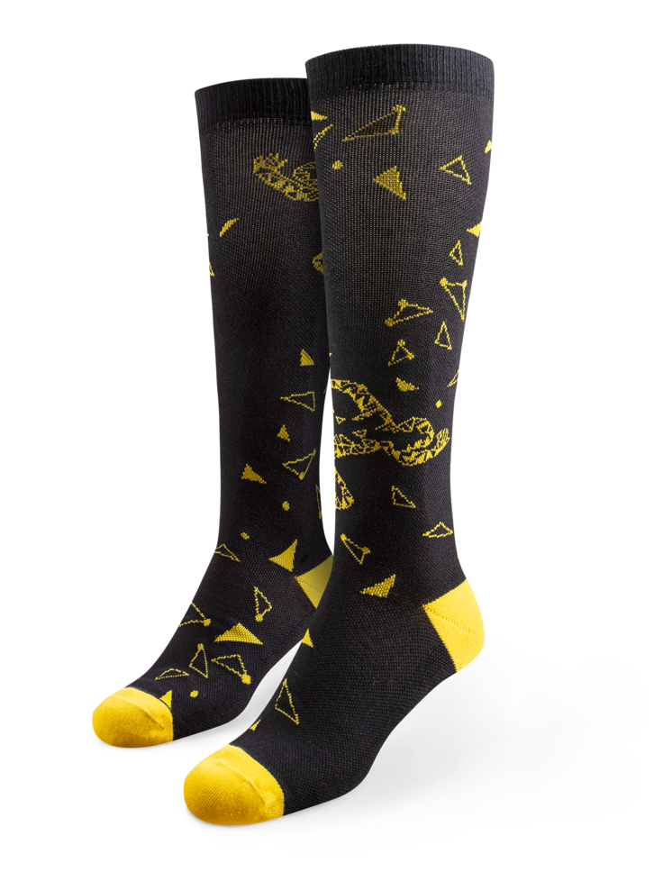 Looking for an original and unusual gift? The gifted person will surely surprise with Running Compression Socks Runner