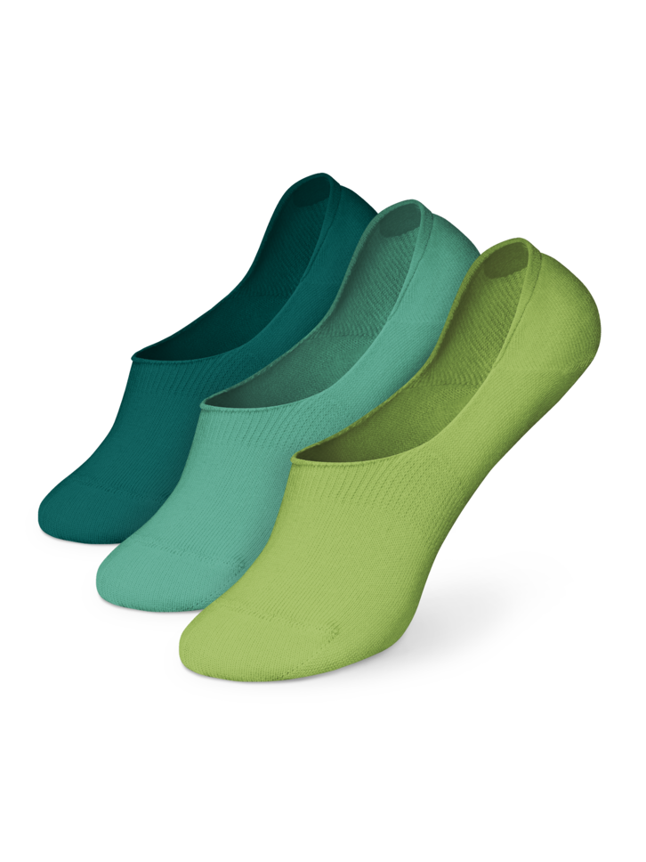 Obrázok produktu Pakiranje od tri para pamučnih niskih stopalica Dragulj