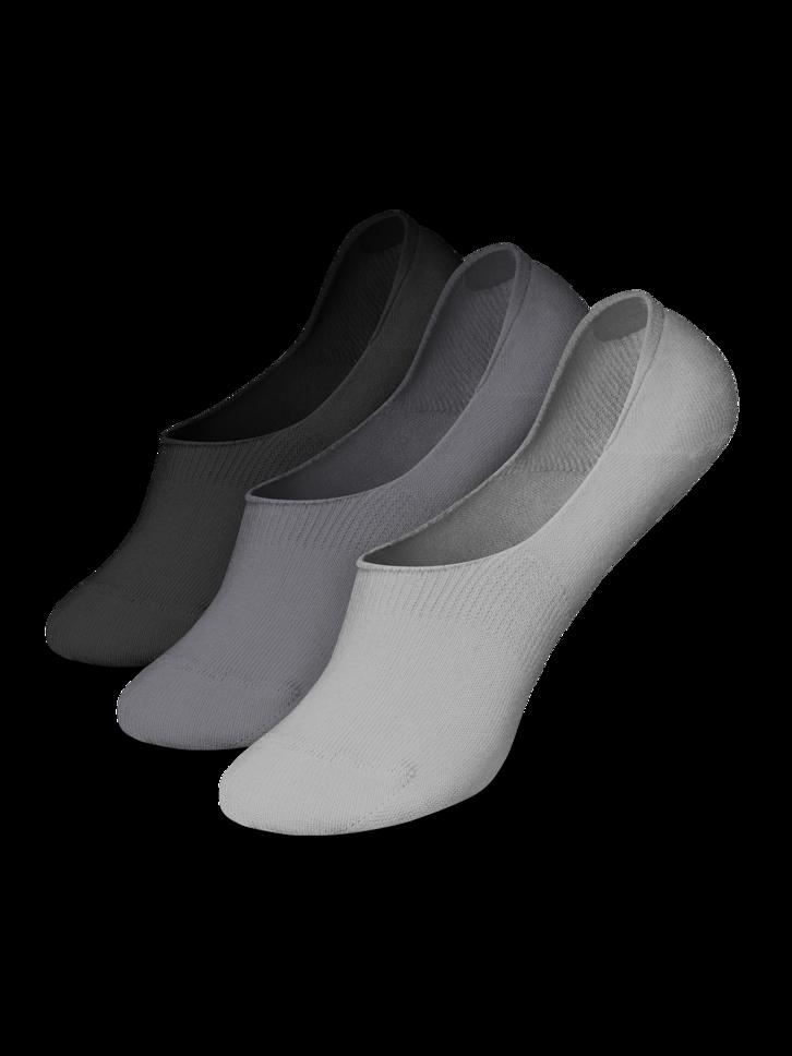 Geschenktipp 3er-Pack No-Show-Socken aus Baumwolle Klassisch