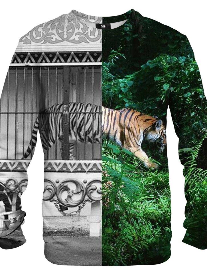 Potešte sa týmto kúskom Dedoles Dukserica bez kapuljače Kavez tigra