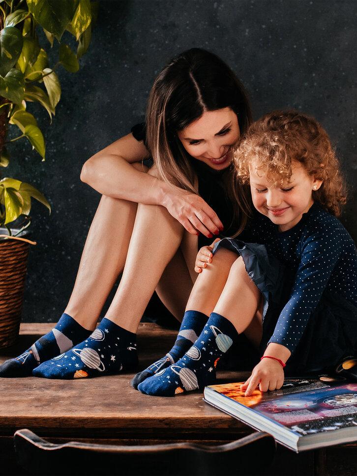 Výnimočný darček od Dedoles Vesele dječje čarape Vesmir