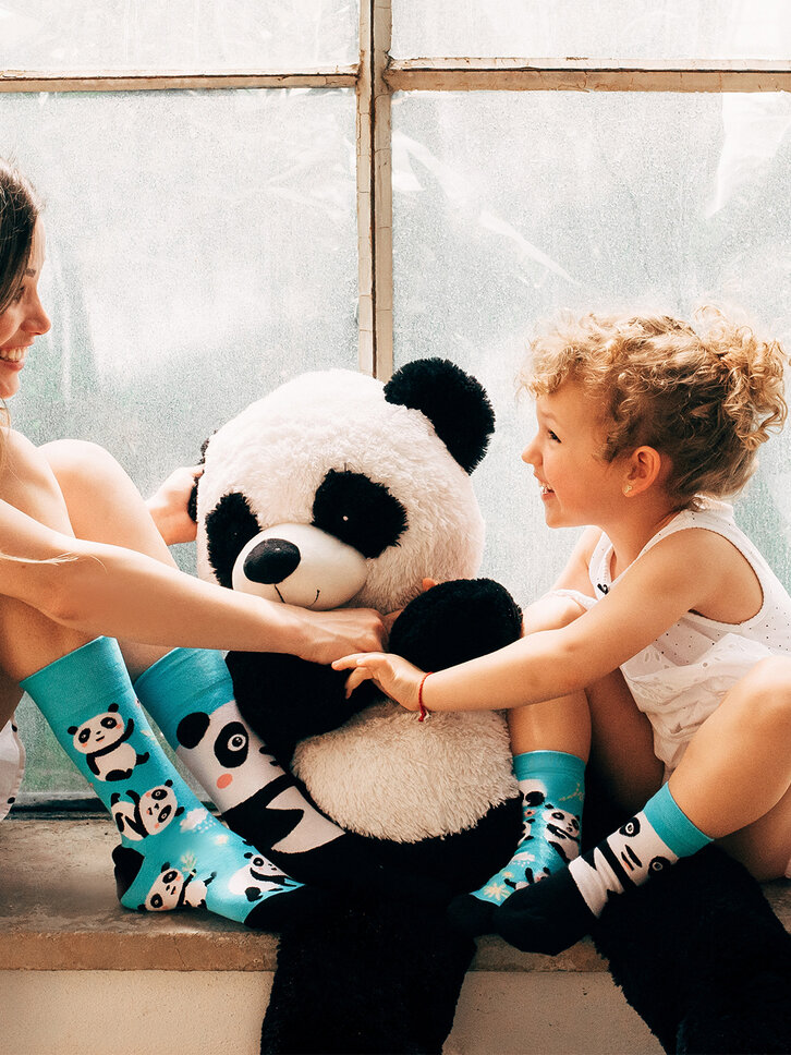 Obrázok produktu Vesele dječje čarape Panda