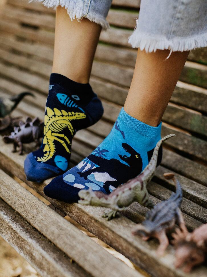 Potešte sa týmto kúskom Dedoles Veselé členkové ponožky Dinosaury