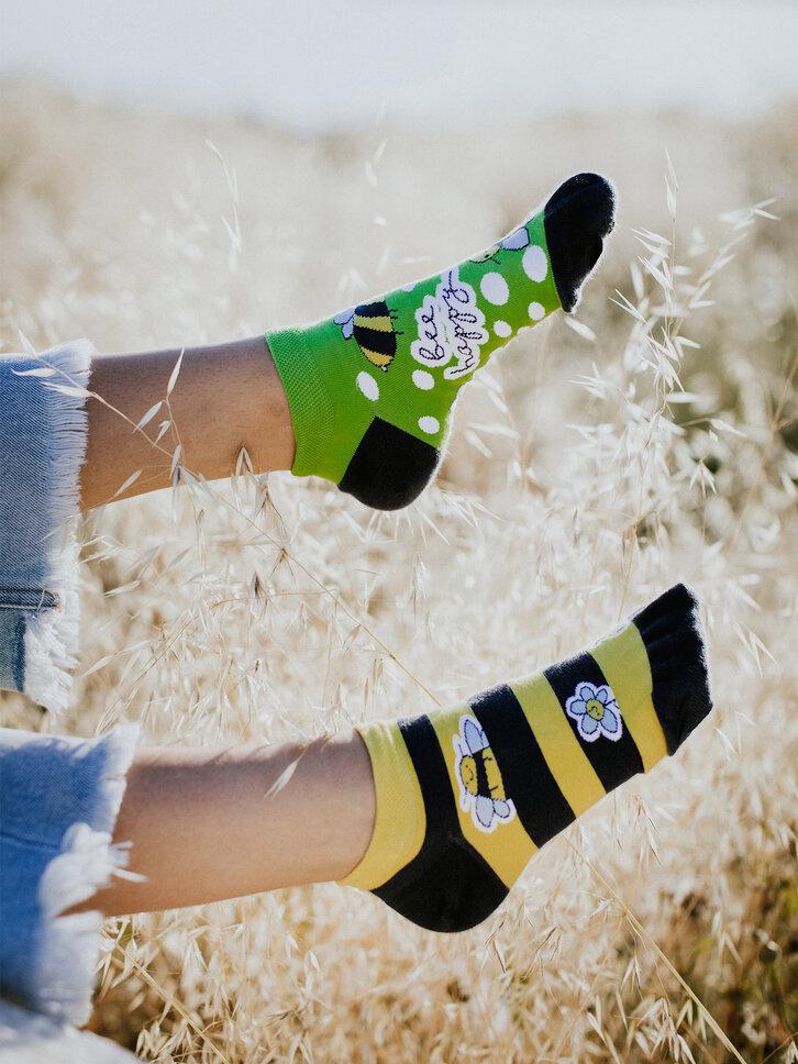 Zľava Živahne kratke nogavice Čebele