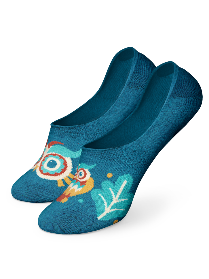 Pre dokonalý a originálny outfit No Show Socks Wise Owl