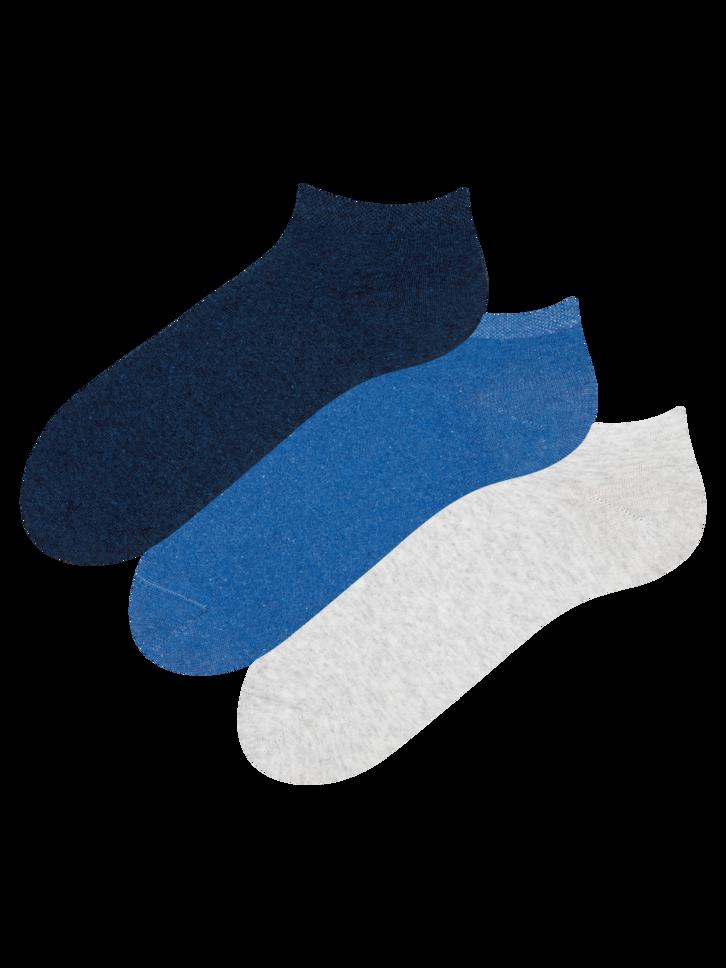 Výprodej Trojbalení kotníkových ponožek z recyklované bavlny Vizionář