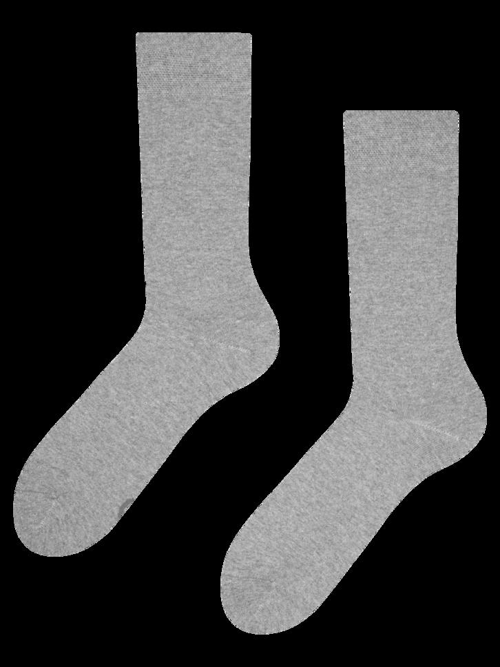 Potešte sa týmto kúskom Dedoles Svjetlosive čarape od recikliranog pamuka