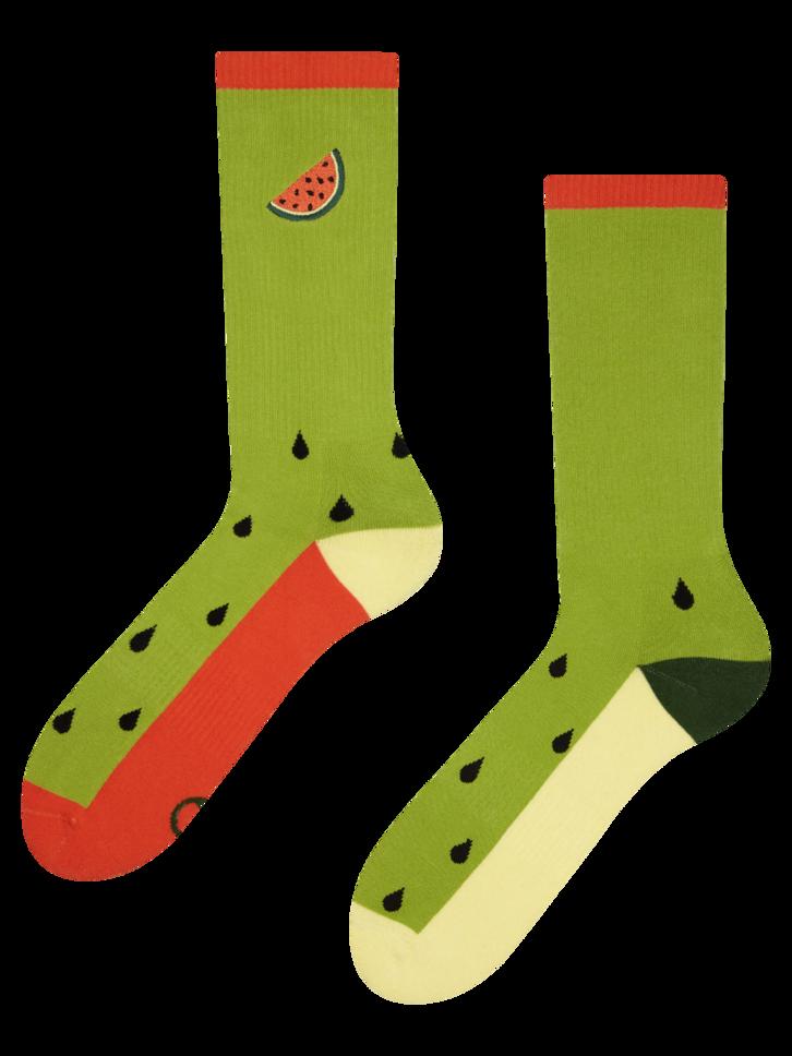 Výpredaj Veselé športové ponožky Melónove jadierka
