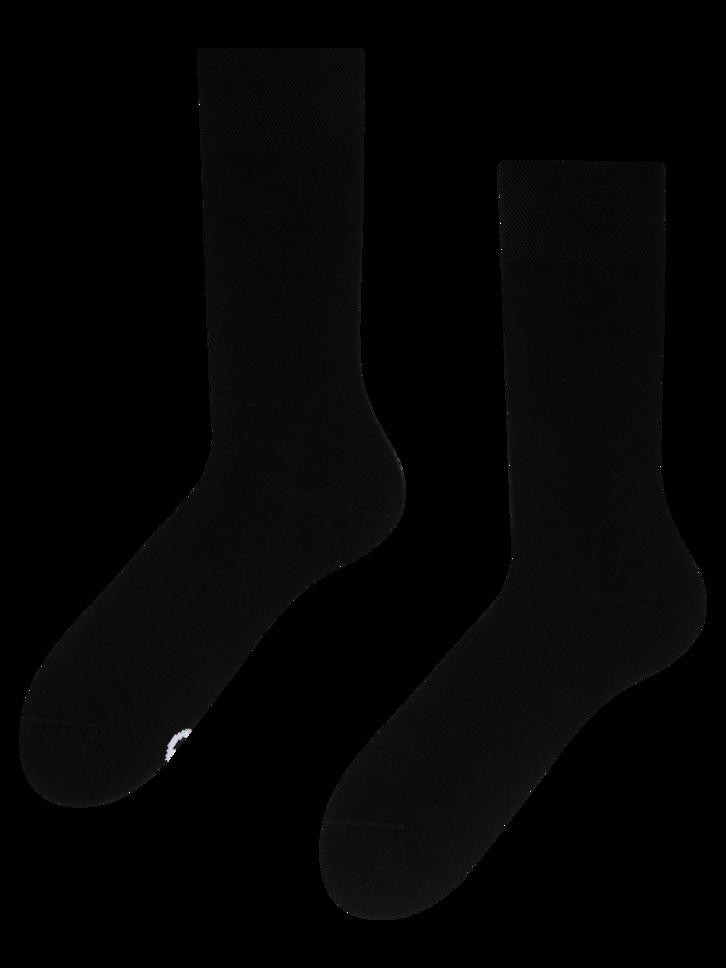 Lifestyle foto Crne čarape od bambusa