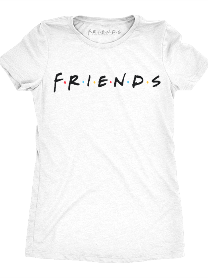 Looking for an original and unusual gift? The gifted person will surely surprise with Women's T-Shirt Friends Logo