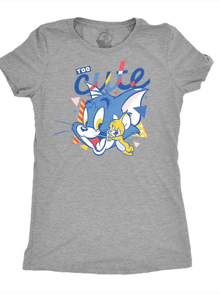 Lifestyle photo Women's T-Shirt Tom and Jerry™ - Too Cute