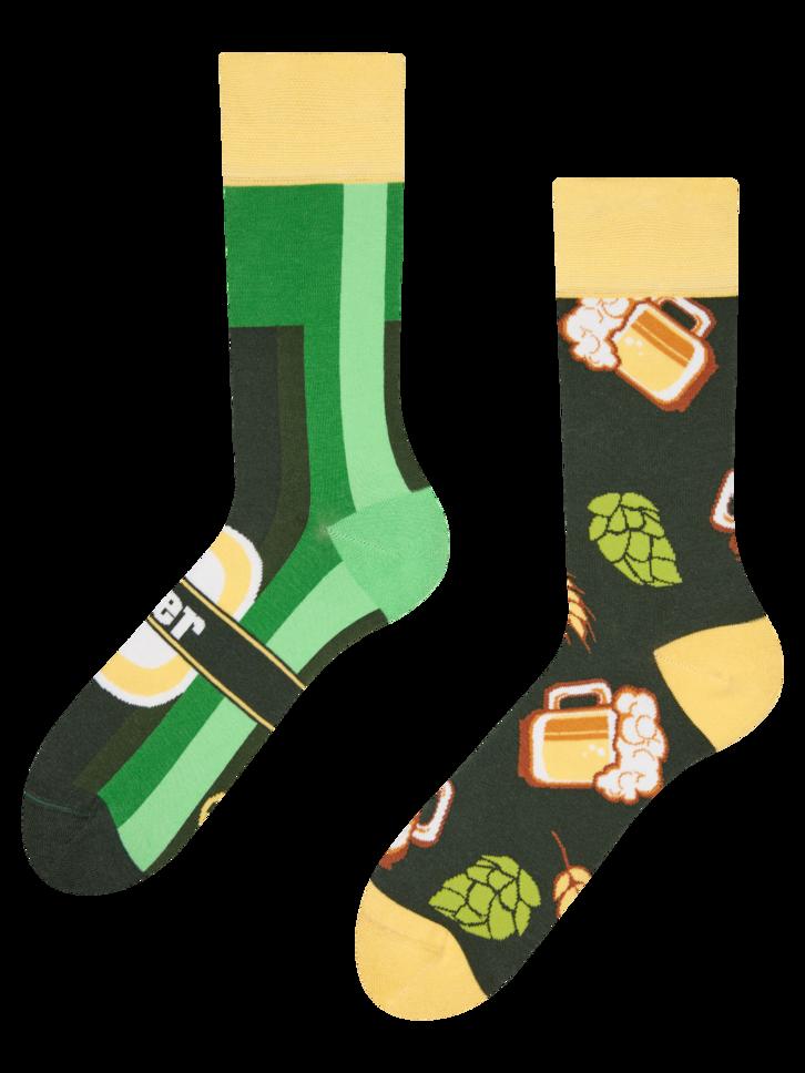 Tip na darček Veselé ponožky Fľaškové pivo