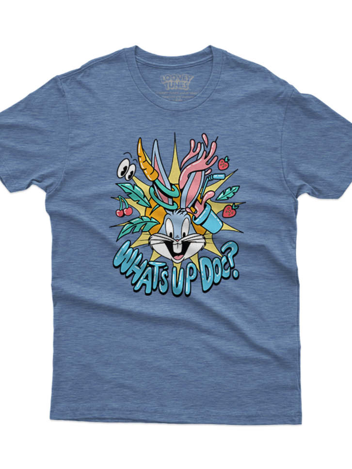 Looking for an original and unusual gift? The gifted person will surely surprise with T-Shirt Bugs Bunny™ Crazy Bugs
