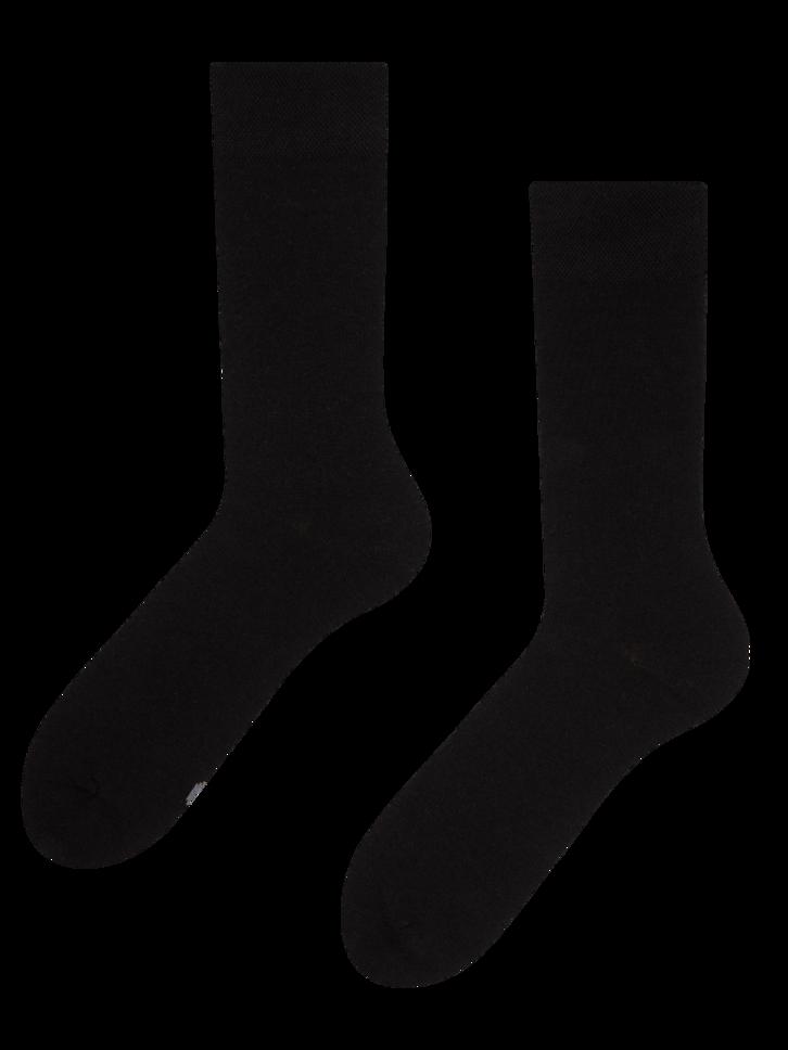 Výpredaj Čierne ponožky z recyklovanej bavlny