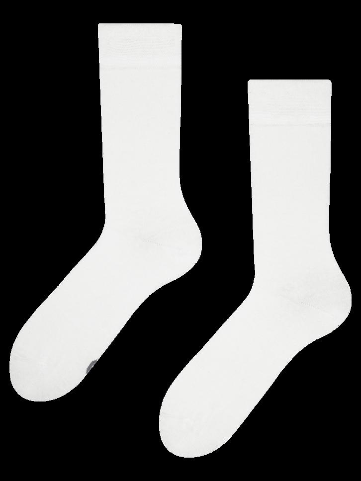 Zľava Bijele čarape od recikliranog pamuka