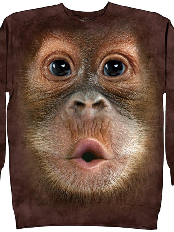 Tip na dárek Mikina bez kapuce Orangutan bendžo