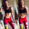 Kedvezmény Női sportos elasztikus leggings Wonder Woman