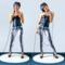 Ausverkauf Damen Leggings Elastisch Skelett