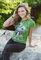 pro dokonalý a originální outfit Dámské tričko Obličej páva