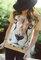 pro dokonalý a originální outfit Tričko Obličej geparda