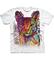 Tip na dárek Bílé tričko s krátkým rukávem Habešská kočka