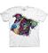 pro dokonalý a originální outfit Bílé tričko Russo Dokonalý svět pro psy