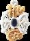 Obrázok produktu Srebrny wisiorek Kompas wikingów
