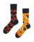 Gift idea Funny Socks - Hedgehog and Apple
