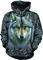 Výprodej Mikina s kapucí Zakletý vlk