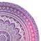 Gift idea Round Beach Throw Pink Ombre Mandala