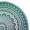Výpredaj Bavlnená mandala Morská zelená