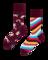 für ein vollkommenes und originelles Outfit Lustige Socken Einhörner und Regenbogen