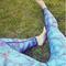 Tip na darček Ženske športne elastične pajkice Modri metulji