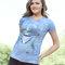 Potěšte se tímto kouskem Dedoles Dámské tričko Obličej delfína