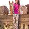Hľadáte originálny a nezvyčajný darček? Obdarovaného zaručene prekvapí Ladies' Pyjamas Trousers Horse in Boots