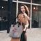 pentru outfit-ul perfect Poşeta Love Antracit – Maci roşii