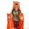 Lifestyle foto Detská deka s kapucňou Líška
