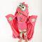 Pre dokonalý a originálny outfit Detská deka s kapucňou Sova