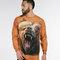a tökéletes és egyedi ruházathoz Őrjöngő grizzly medve hosszú ujjú