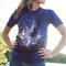 Rabatt T-Shirt Sterne im Universum