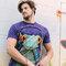 Suchen Sie ein originelles und außergewöhliches Geschenk? überrascht den Beschenkten sicher T-Shirt Frosch mit Kopfhörern