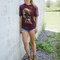 Bereiten Sie sich Freude mit diesem Dedoles-Stück T-Shirt Wölfe im Sonnenuntergang