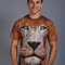Potěšte se tímto kouskem Dedoles Tričko Obličej lva