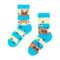 Looking for an original and unusual gift? The gifted person will surely surprise with Kid's Socks Dogs and Stripes