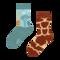 Tip na darček Vrolijke kindersokken Giraffe
