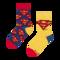 Hľadáte originálny a nezvyčajný darček? Obdarovaného zaručene prekvapí Vrolijke kindersokken Superman ™ Logo