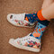 Potešte sa týmto kúskom Dedoles Vrolijke bamboe sokken Koraal